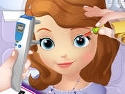 Play Sofia the First Eye Doctor Game
