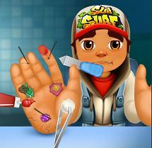 Play Subway Surfers Hand Doctor Game