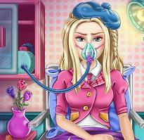 Play Barbie Flu Doctor Game