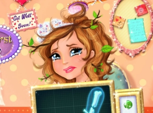 Play Sofia Arm Surgery Game