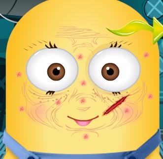 Play Minion Botox Treatment Game