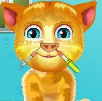 Play Talking Ginger Nose Doctor Game