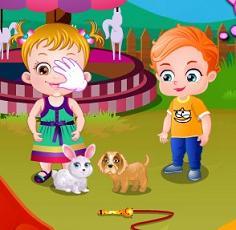 Play Baby Hazel Pet Hospital Game