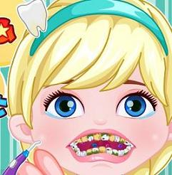 Play Baby Elsa Dental Implant Game