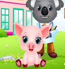 Play My Pet Doctor Baby Piggy Game