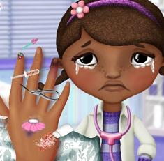 Play Mcstuffins Hand Doctor Game