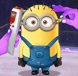 Play Minion Eye Doctor Game