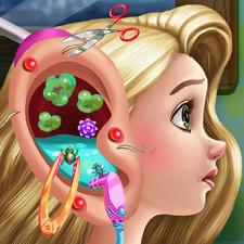 Play Rapunzel Ear Doctor Game