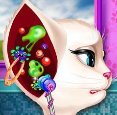 Play Angela Ear Doctor Game