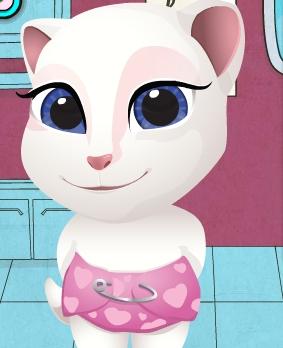 Play Little Angela Eye Doctor Game