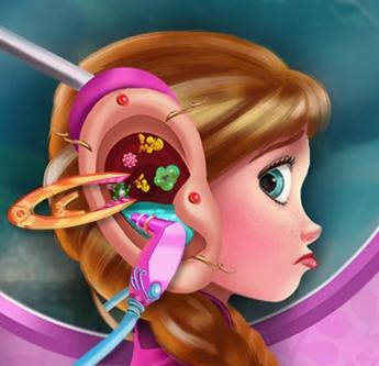 Play Anna Ear Injury Game