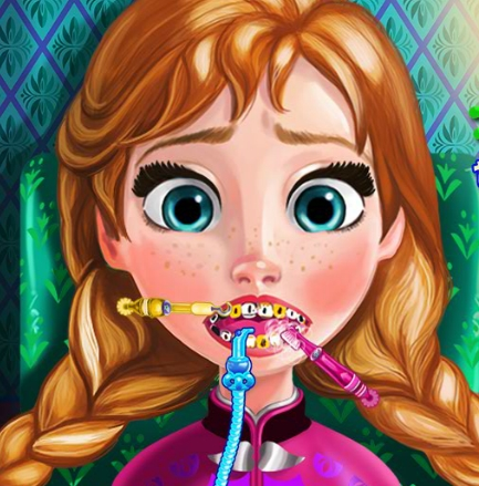 Play Anna Tooth Injury Game