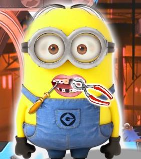Play Minions Dental Visit Game