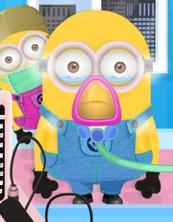 Play Minions Flu Doctor Game