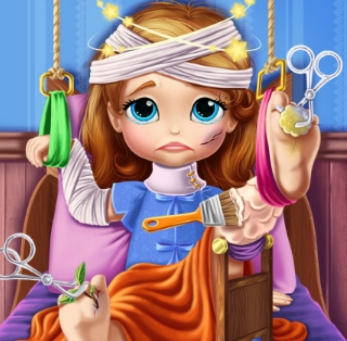 Play Sofia The First Hospital Recovery Game