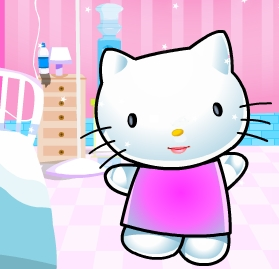 Play Hello Kitty at the Doctor Game