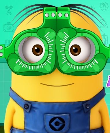 Play Minion At Eye Clinic Game