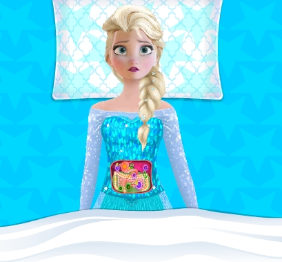 Play Elsa Stomach Surgery Game