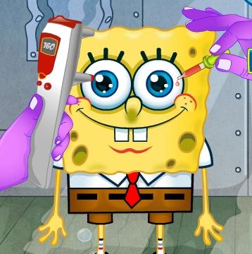 Play Spongebob Squarepants Eye Doctor Game
