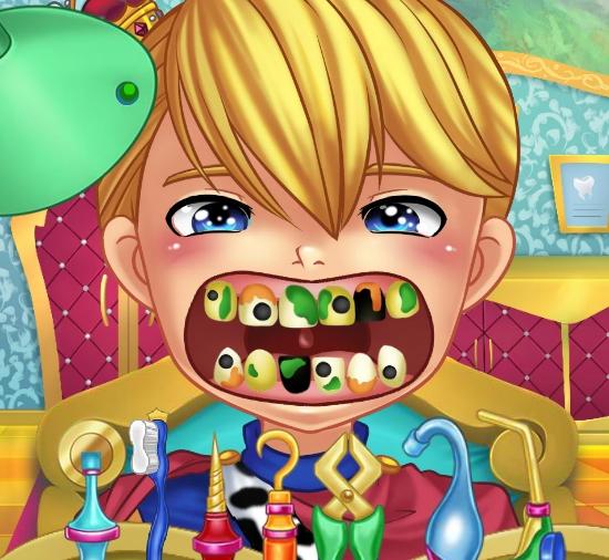 Play Royal Dentist Game