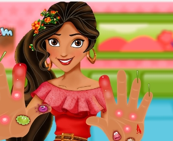 Play Elena of Avalor Hand Doctor Game