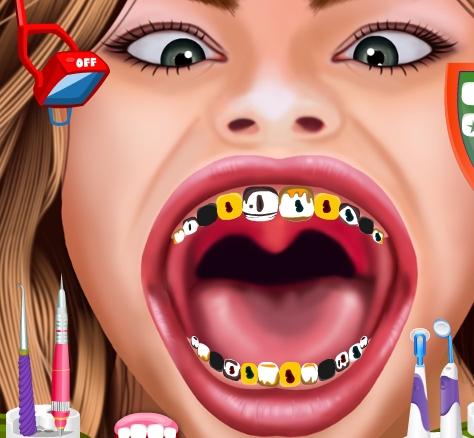 Play Hannah at Dentist Game
