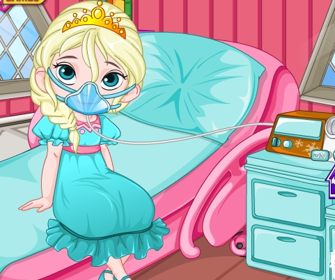 Play Elsa After Surgery Caring Game
