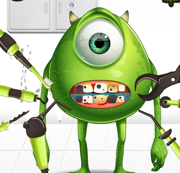 Play Monster Eye Tooth Problems Game