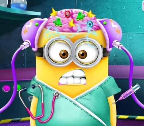 Play Minion Brain Doctor Game