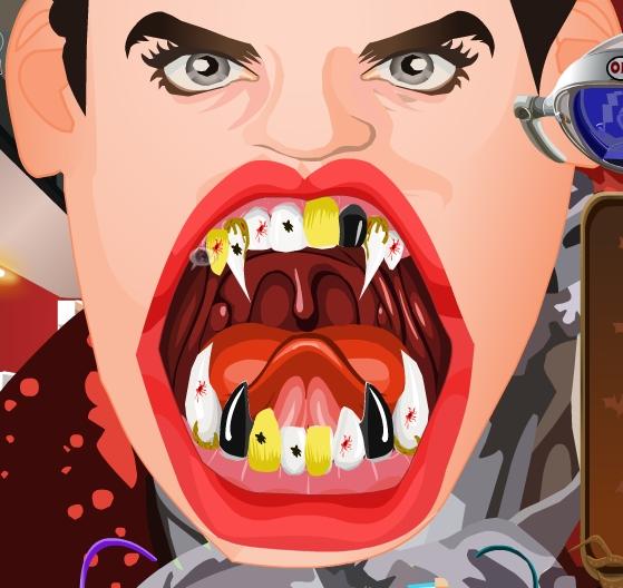 Play Draculas Dentist Game