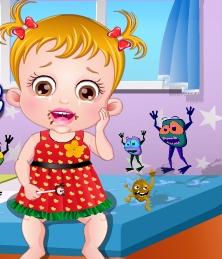 Play Baby Hazel Dental Care Game