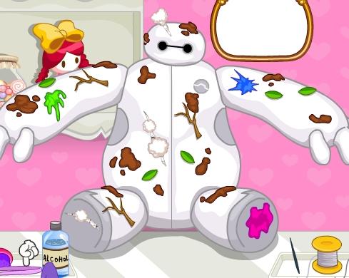 Play Repair Doll Baymax Game