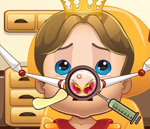 Play Royal Baby Nose Doctor Game