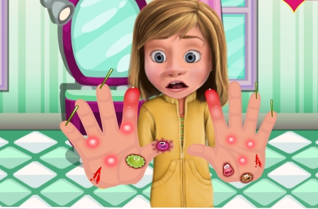 Play Inside Out Hands Doctor Game