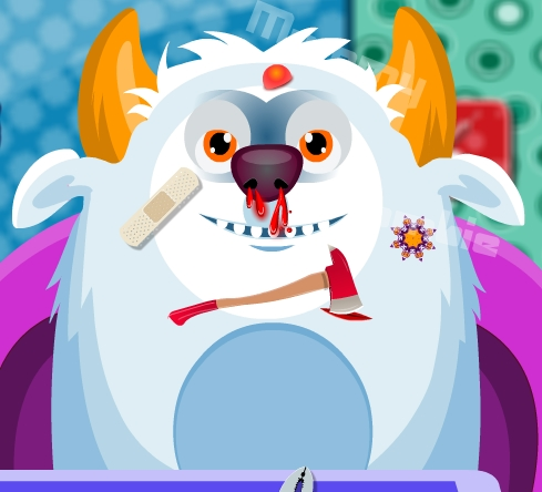 Play Monster Doctor Game