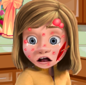 Play Riley Face Problems Game