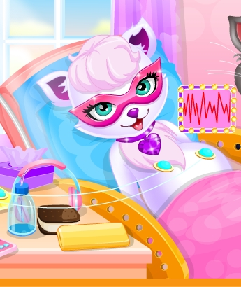 Play Super Cat Gave Birth To Baby Game
