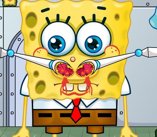 Play Spongebob Squarepants Nose Doctor Game