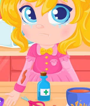 Play First Aid Cooking Accidents Game