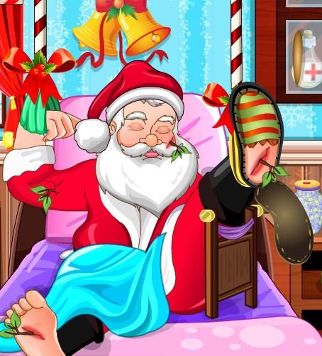 Play Santa Hospital Treatment Game