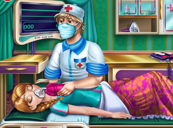 Play Anna Resurrection Emergency Game
