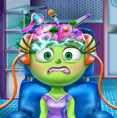 Play Disgust Brain Doctor Game