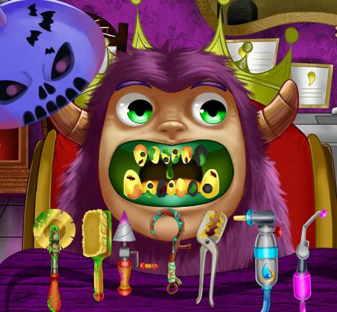 Play Monster Dentist Game