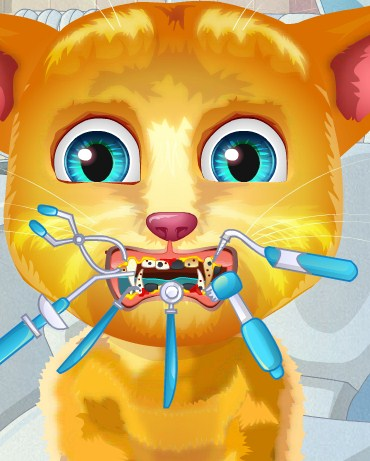 Play Talking Ginger tooth problems Game