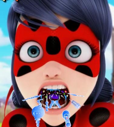 Play Miraculous Ladybug Throat Doctor Game