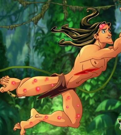 Play Tarzan Jungle Problems Game