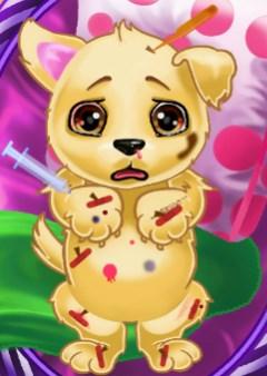 Play Injured Puppy Game
