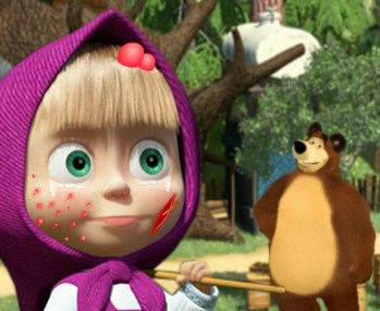 Play Masha And The Bear Accident Game