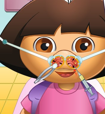 Play Diego Nose Doctor Game