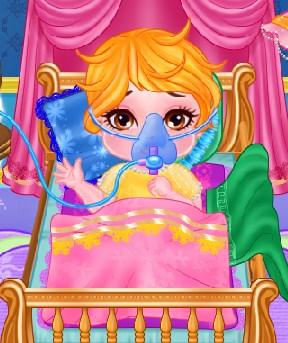 Play Cute Baby Flu Doctor Game